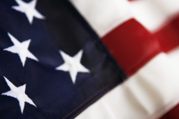 American Flag Closeup
