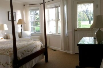 Room 412 - Bed and View