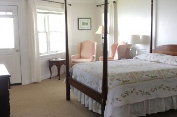 Room 425 - Bed and Windows
