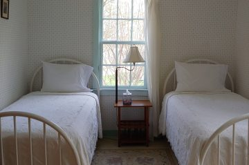Twin Beds in the Twin Room